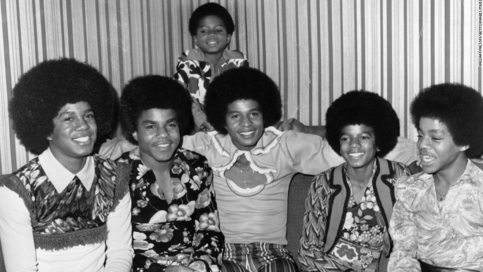 "The brothers who composed the Jackson 5 -- from left, Jermaine, Tito, Jackie, Michael and Marlon, here in 1972 with brother Randy in the background -- sparked an intense fandom with hits like ""I'll Be There"" and ""Never Can Say Goodbye."""