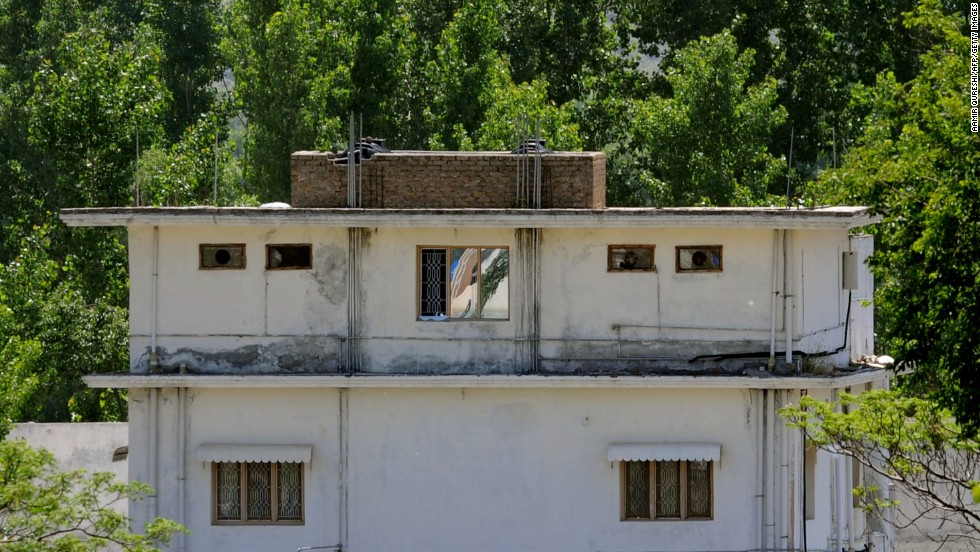 A closer view of one of the buildings in the compound is seen on May 7, 2011.