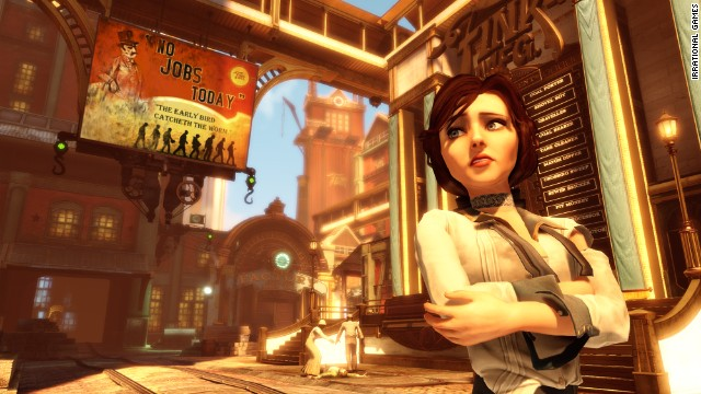 """Bioshock Infinite"" has created a character in Elizabeth who makes players truly care about what happens to her."