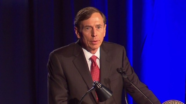 Petraeus: Scandal 'was my own doing'