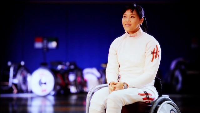 Hong Kong's Paralympic fencing champion