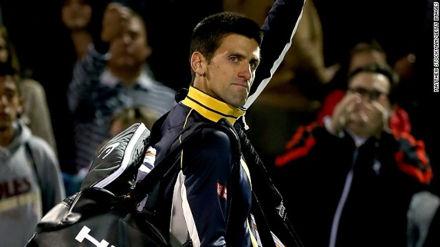 Novak Djokovic's only other defeat of 2013 came against Juan Martin del Potro at Indian Wells.
