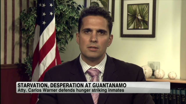 Hunger strikes in Guantanamo Bay