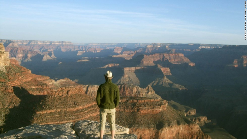 "Beneath the rim of the Grand Canyon is where children need to go to appreciate the many layers of historical and natural wonder.  ""The immensity of the canyon makes people think big,"" says botanist Mike Masek. ""While this is rewarding, the true nature of the canyon comes alive upon closer inspection."""