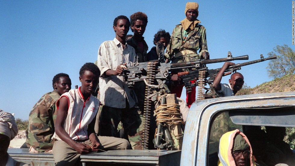 """Piracy is a symptom of the breakdown of Somalia's political system,"" said economist and lead author of the report Quy-Toan Do. <br /><br />Somalia plunged into chaos after dictator Mohamed Siad Barre was overthrown in 1991, and clan warlords and militants battled for control."