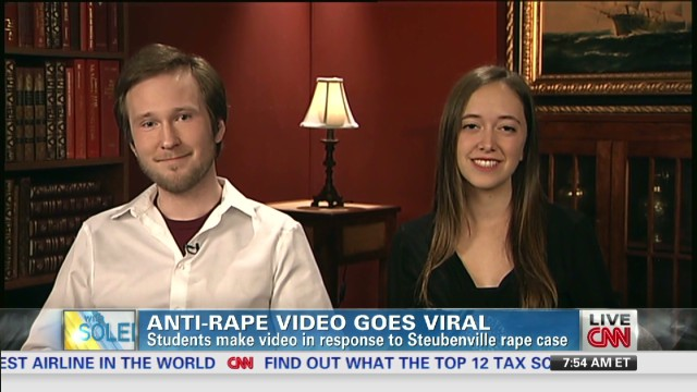 College students make anti-rape video