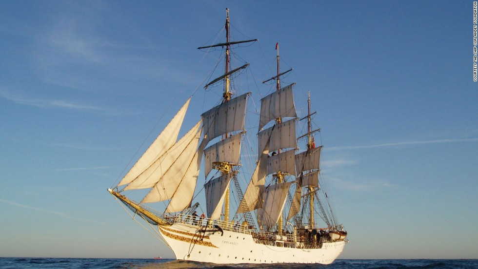 Another one of the stars of this summer's Tall Ships Challenge is the 210-foot, 86-year-old training vessel Sorlandet -- which will sail all the way from Norway.