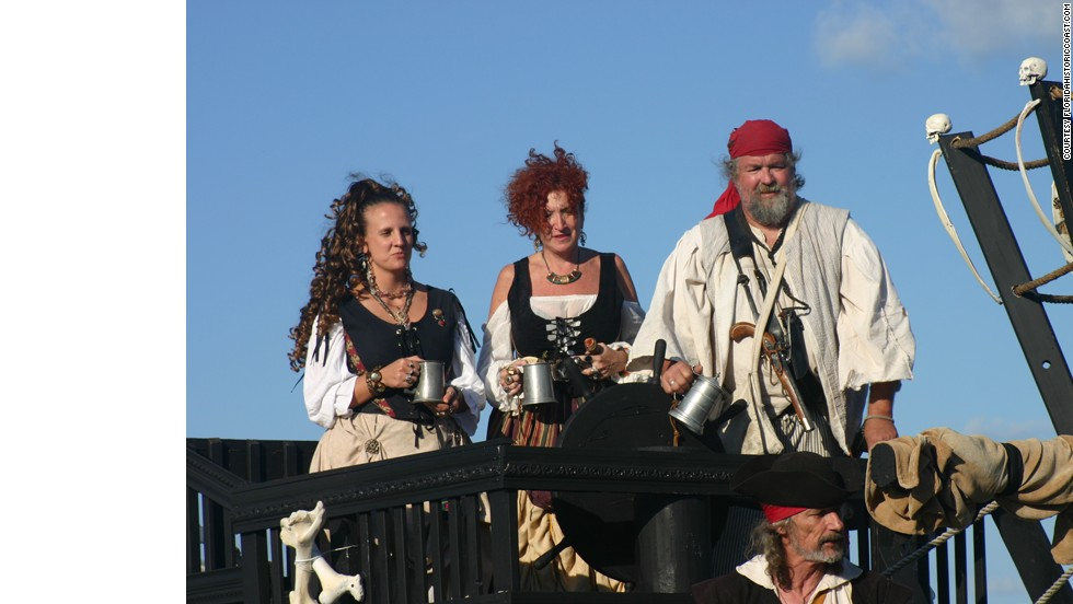 Channel your inner pirate at the St. Augustine Pirate Gathering in November.