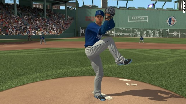 "Tampa Bay Rays pitcher David Price is on the cover of ""MLB2K13"" and hopes a gamer pitches a perfect game with his character."