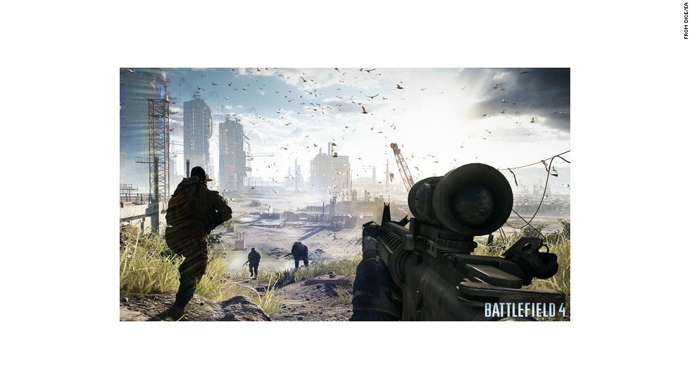 "The creators of ""Battlefield 4,"" said they aimed to make combat appear as authentic as possible, but intentionally avoided physical hyper-realistic depictions of the horrors of war."