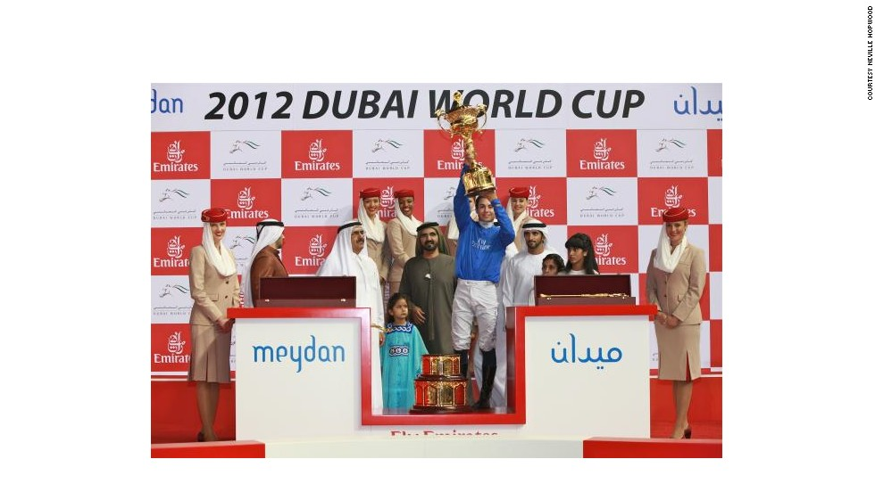 Godolphin horse Monterosso, riden by jockey Mickael Barzalona, won last year's Cup. With $10 million in prize money on offer, it is the world's richest race, attracting the best thoroughbreds on the planet.