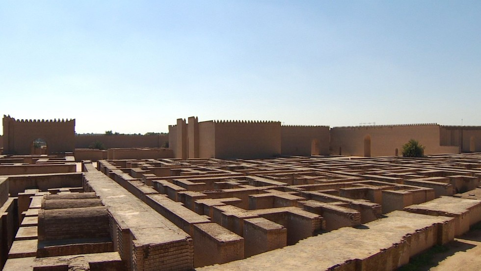 Once a glorious site, Babylon bears scars of history - CNN.com