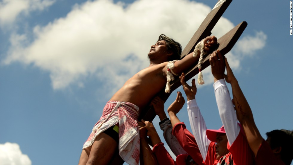 Authorities in the Philippines have said they expect at least 24 penitents to be nailed on the cross on Good Friday.