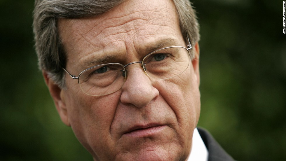 "While Senate minority leader, Trent Lott praised Sen. <br />Strom Thurmond at a retirement party for the South Carolina Republican in 2002. ""When Strom Thurmond ran for president, we voted for him. We're proud of it. And if the rest of the country had followed our lead, we wouldn't have had all these problems over all these years, either,"" Lott said.<br /><br />Thurmond ran for president in 1948 as a segregationist. Lott, a Mississippi Republican, later said the his statement was intended to endorse Thurmond as a man, not his beliefs.  Lott resigned his leadership post over the controversy and since left the Senate."