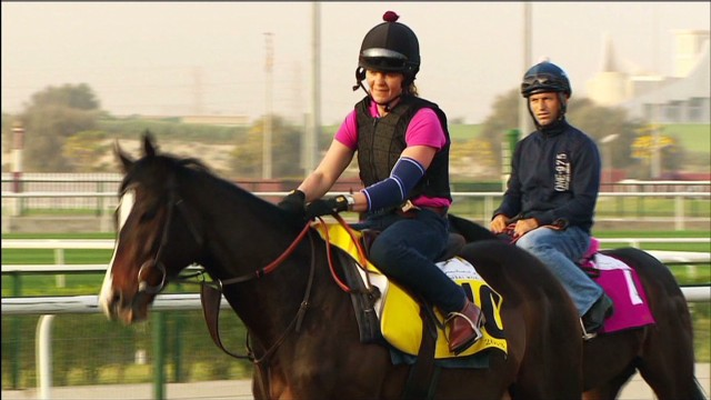 Horses fly to Dubai in search of riches