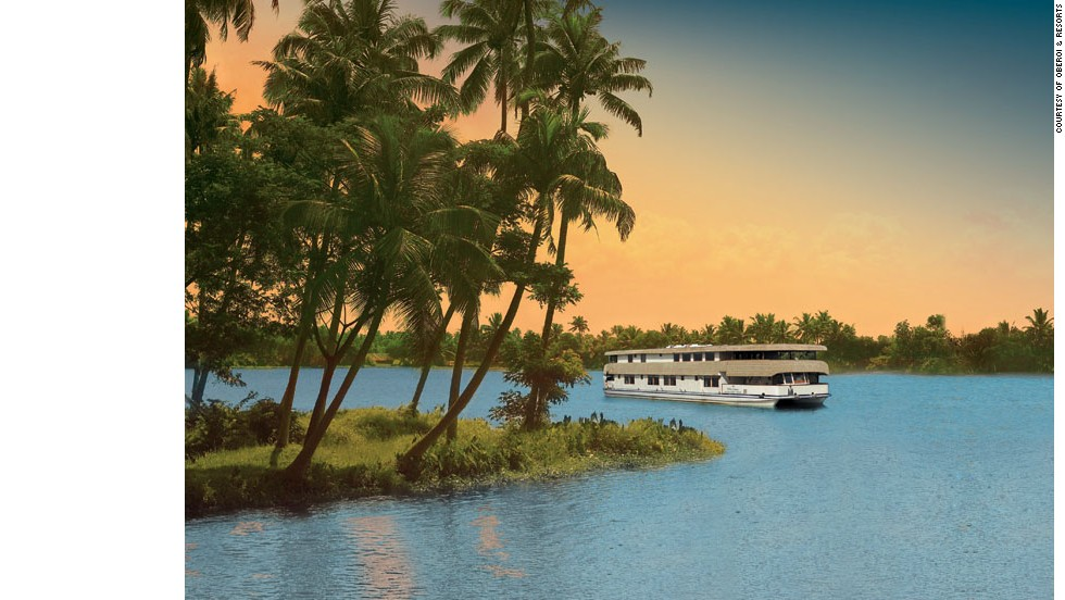 The Oberoi Motor Vessel Vrinda takes travelers on an exploration of Kerala, a southern Indian state that edges the Arabian Sea.