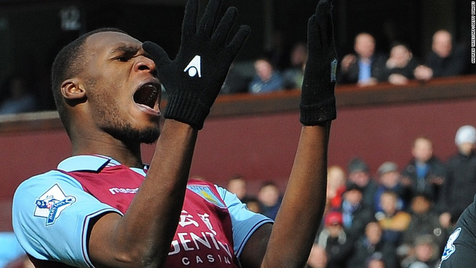 Christian Benteke had given Villa hope of a third successive victory with his 14th league goal this season and 18th overall.