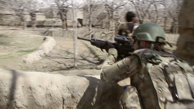 Inside a firefight with the Taliban