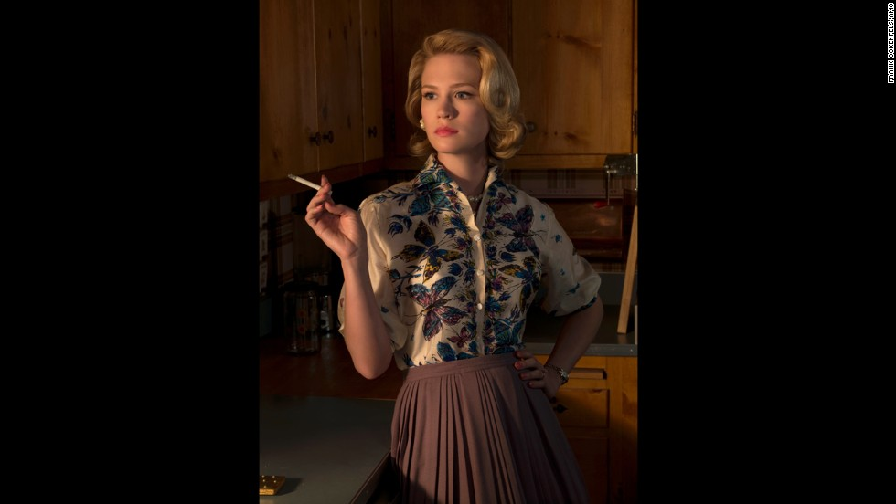 Betty Draper becomes increasingly estranged from husband Don.