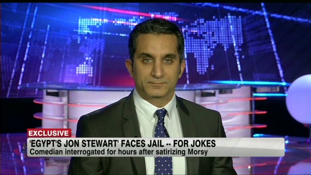 Egypt's Jon Stewart answers joke by joke