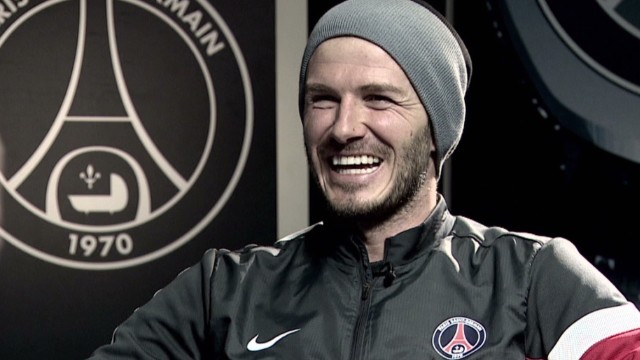 Beckham: Tom Cruise is hotter than I am