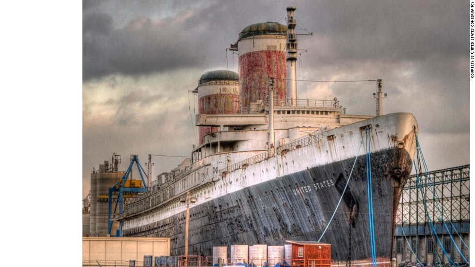 Keeping the ship afloat costs nearly $80,000 a month for basic maintenance, insurance and security. Supporters hope to save the SS United States by transforming it into a stationary entertainment complex and museum. Otherwise, its owners will be forced to sell it for scrap metal.