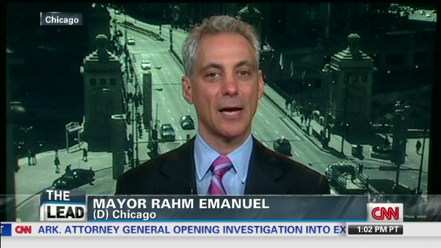 Rahm Emanuel rejects NRA-backed proposal