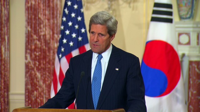 Kerry: U.S. won't accept a nuclear state