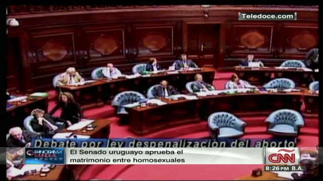 Uruguay y los matrimonios gay