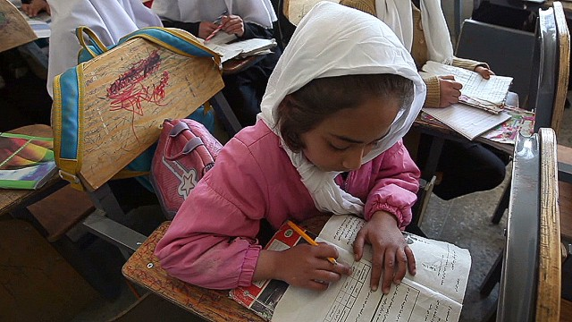 Educating girls in Afghanistan