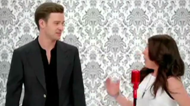 Justin Timberlake surprises super fans