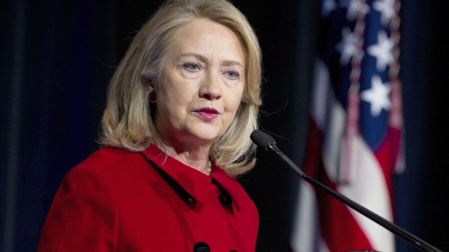 Hillary Clinton re-emerges