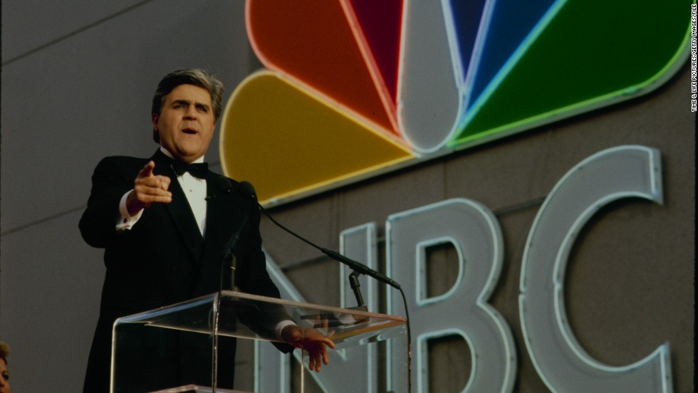 Leno, seen here circa 1990, hasn't been shy about knocking NBC executives.