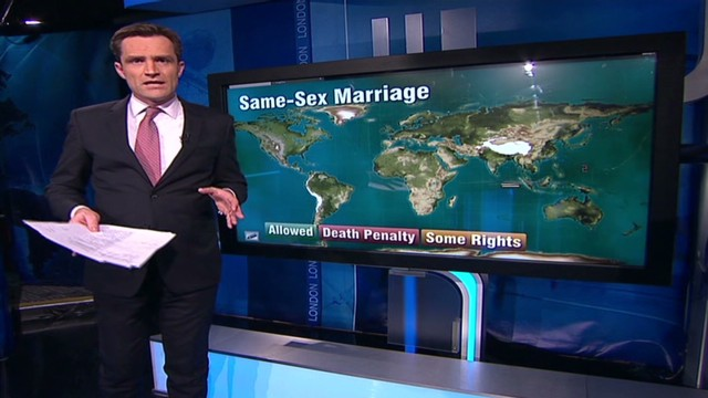 Same-sex marriage around the world
