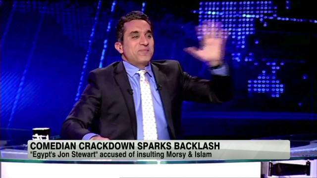 Comedian crackdown sparks backlash