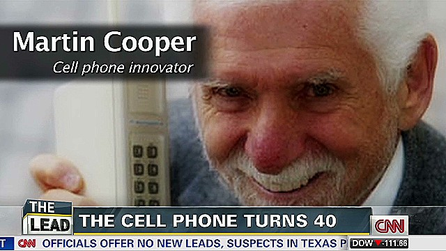 Who made the first cell phone call?