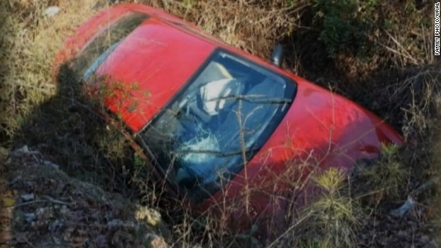 The body of Carolyn Watkins, 62, was found inside her wrecked car at a tow yard on Monday.