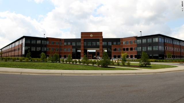 A Department of the Army civilian employee died after a shooting Wednesday outside the U.S. Army Human Resources Command headquarters at Fort Knox.