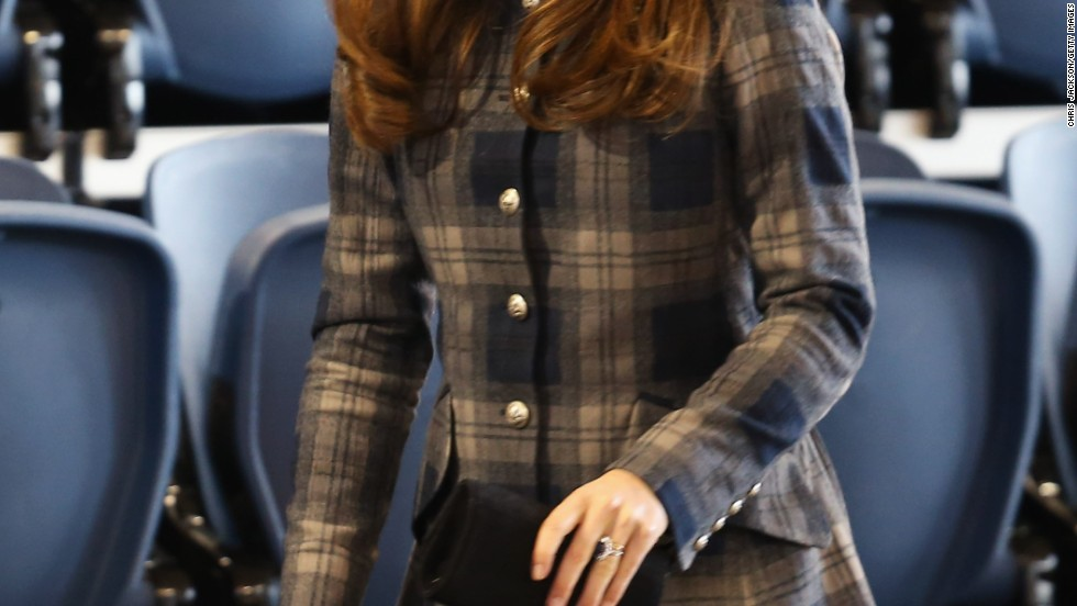 Catherine, Duchess of Cambridge, visits Glasgow, Scotland.