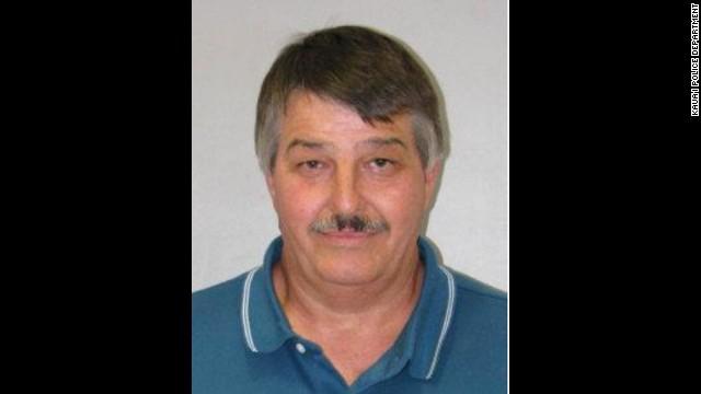 Richard Godbehere's mug shot from the Kaua'i police.