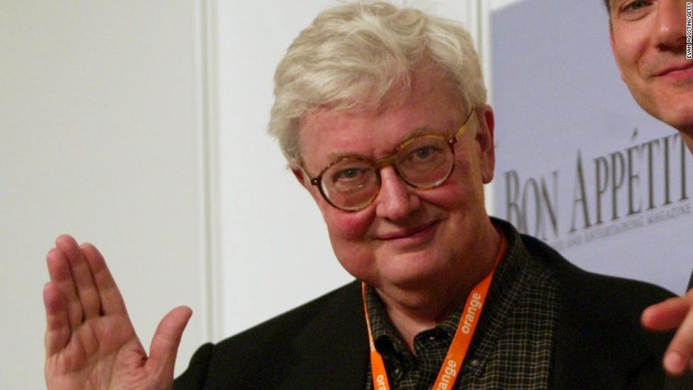 Roger Ebert and critic Roger Ebert