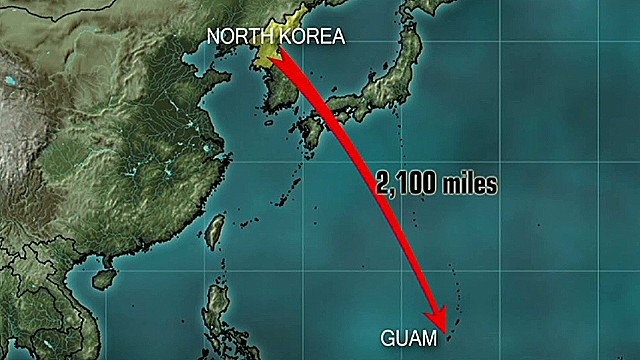Guam gov: N. Korea needs one lucky shot