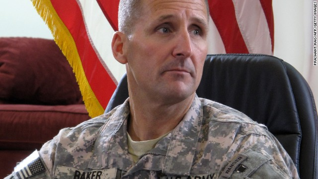 Maj. Gen. Ralph Baker was fired last week as commander of the Combined Joint Task Force-Horn of Africa.