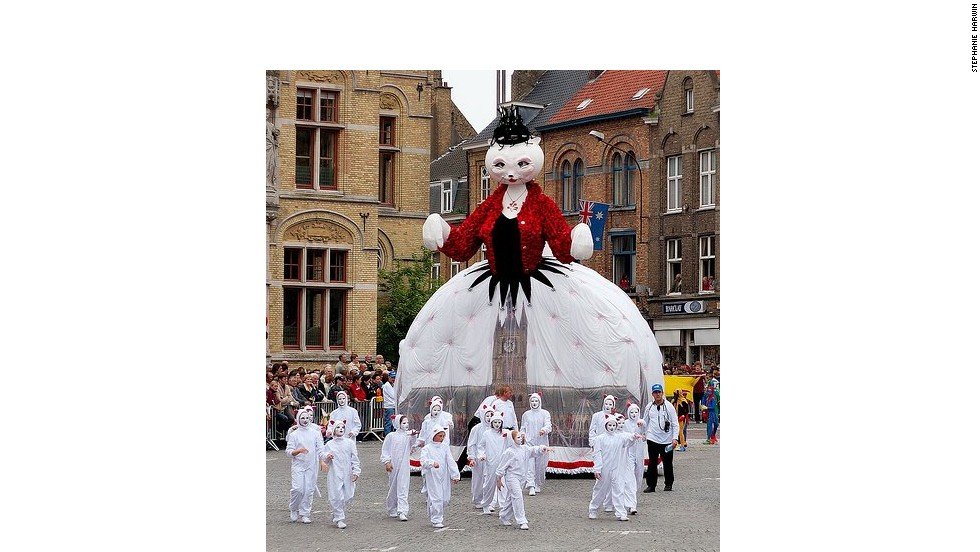 The next Kattenstoet (Festival of the Cats) is scheduled for 2015 in Ypres, Belgium, on the second Sunday in May.