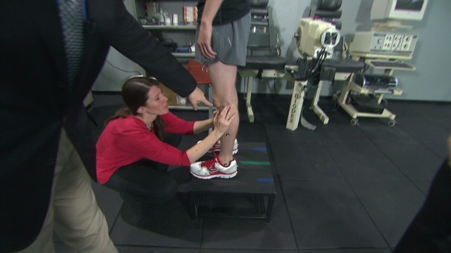 Preventing sports injuries, in the lab