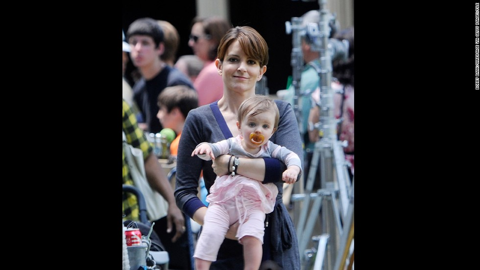 Tina Fey gave birth to her second daughter, Penelope, in 2011, when she was 41. Her daughter Alice was born in 2005.