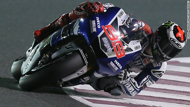 Yamaha's Jorge Lorenzo is seeking to win his third MotoGP world title this season.