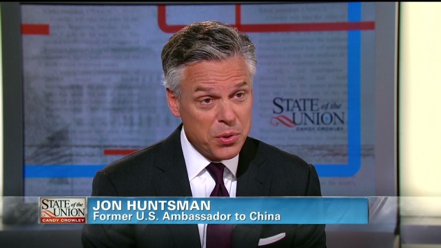 Huntsman: China's boiling point near