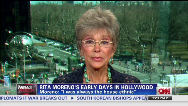 Rita Moreno recounts life on screen