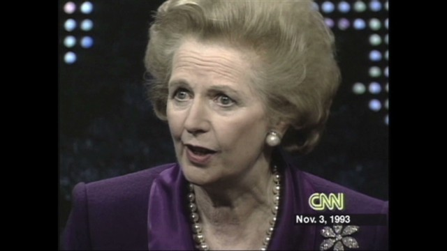 Remembering Margaret Thatcher